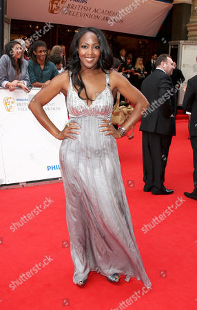 British Academy Television Awards Arrivals at the London Palladium Argyll Street Angelica Bell