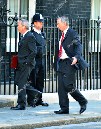 Tuesday Morning Cabinet Meeting at Number 10 Downing Street Westminster London John Hutton & Geoff Hoon