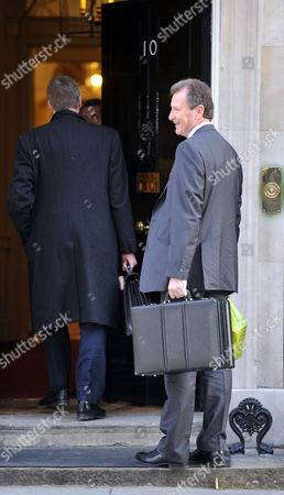 Cabinet Meeting at Number 10 Downing Street Westminster Cabinet Secretary Sir Gus O'donnell
