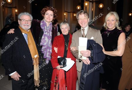 Carol Service at St Peters Eaton Square For Rapt 'Rehabilitaion For Addicted Prisoners Trust' Sir James Galway Anna Chancellor Dame Judi Dench Lady Jeanne Galway & Edward Fox