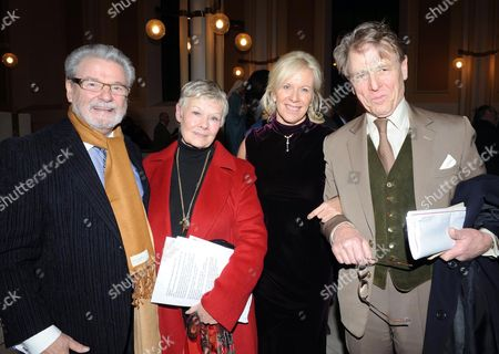 Carol Service at St Peters Eaton Square For Rapt 'Rehabilitaion For Addicted Prisoners Trust' Sir James Galway Dame Judi Dench Lady Jeanne Galway & Edward Fox