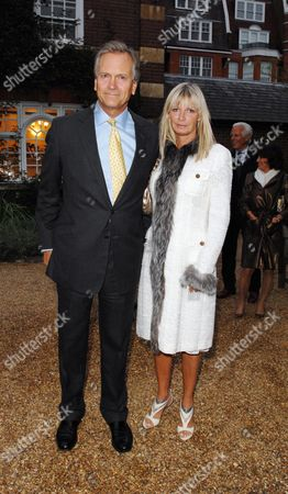 Cartier Dinner at the Physic Gardens Chelsea Charles and Pandora Delevigne