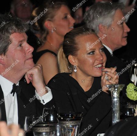 Cartier Racing Awards in the Ballroom Claridges Hotel Guy Sangster and Alice Bamford