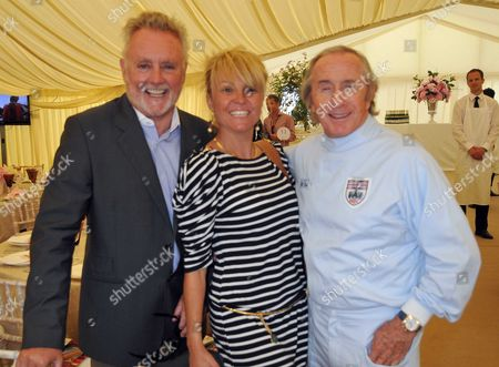 Cartier Style Et Luxe at the Goodwood Festival of Speed Goodwood House East Sussex Uk Roger Taylor Sarina Botgieter & Sir Jackie Stewart