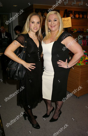 Champagne Reception to Celebrate the Opening of the Jewish Museum Albert Street Camden Town Vanessa Feltz with Her Daughter Allegra Feltz