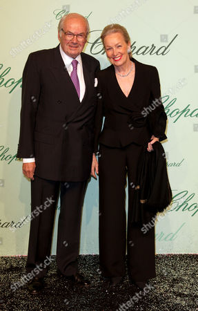 Chopard 150th Anniversary Party Arrivals at Vip Room Palm Beach During the 63rd Cannes Film Festival Karin and Karl Scheufele