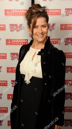 Stock Image of Christmas Carols with the Stars in Aid of Leukaemia Research at the Royal Albert Hall London Kazia Pelka ( Heartbeat)
