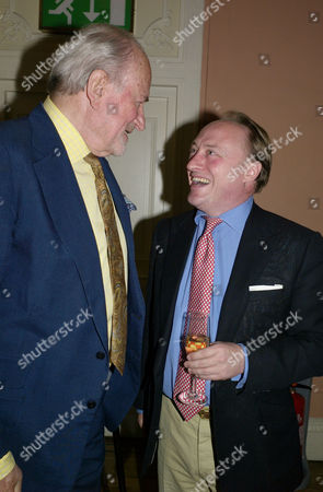 Deadly Sins Book Launch at the English Speaking Union Mayfair London Claus Von Bulow and Andrew Roberts