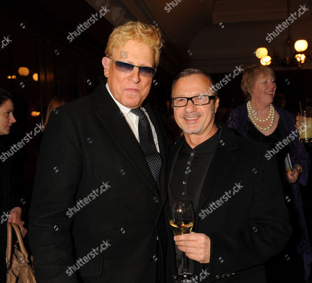 Dogs in Vogue Book Launch at James Purdey & Sons South Audley Street Mayfair London Anthony Price & Jacques Azagury
