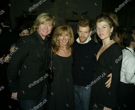 Stock Photo of The Launch of Dom Perignon Oenotheque Vintage 1995 at the Landau at the Langham Hilton Hotel London Kelly Hoppen & Nicky Clarke with Tom & Amber Aiken