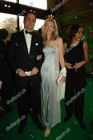 Nspcc Dreamauctionfullstop Com Launch at the Royal Albert Hall Catrina Skepper with Hier Husband Alessandro Guerrini-maraldi