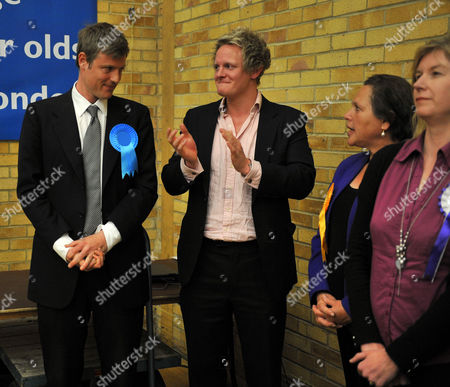 Count at Election Results at Richmond Upon Thames College From Richmond Park and Twickenham Richmond Park with His Election Agent David Newman and Lib Dem Loser Susan Kramer