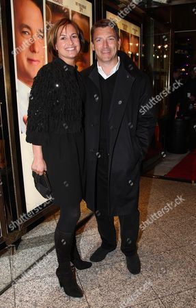 Premiere of the Film 'Charlie Wilson's War' Emma Forbes with Her Husband Graham Clempson