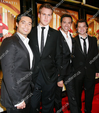 European Premiere of 'Fred Claus' at the Empire Leicester Square Teatro - Stephen Rahman-hughes Andrew Alexander Jeremiah James and Simon Bailey