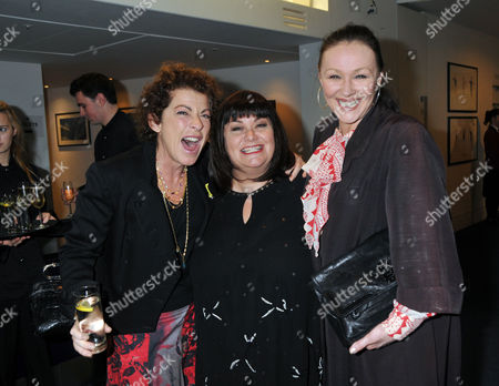 Evening Standard 2009 Theatre Awards at the Royal Opera House Covent Garden Suzanne Bertish Dawn French Francis Barber