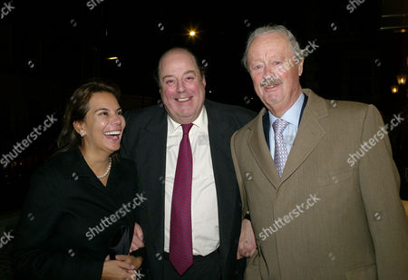 First Annual Churchill Centre Dinner at the Marriot Hotel Grosvenor Square Lily Mahtani the Duchess of Marlborough with Nicholas Soames and the Duke of Marlborough