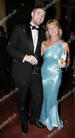 First Night Afterparty For 'Gone with the Wind' at the Waldorf Hotel Jan Leeming with Her Son