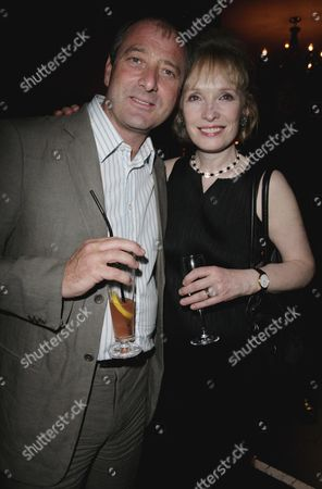 First Night Afterparty For 'That Face' at Studio Valbonne Kingly Street Julian Wadham and Lindsay Duncan