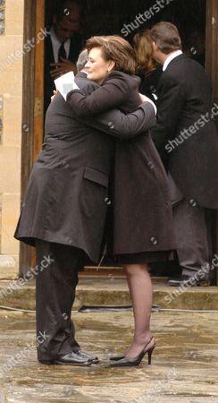 Cherie Blair with Sir John Mill's Manager John