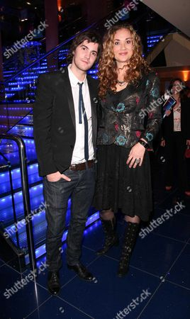 Gala Premiere For 'Across the Universe' at the Apollo Westend Jim Sturgess and Co-star Dana Fuchs