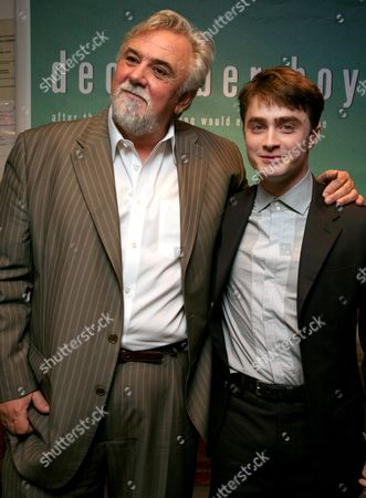 Gala Screening For 'The December Boys' at the Covent Garden Odeon Shaftesbury Avenue the Director Rod Hardy and Daniel Radcliffe