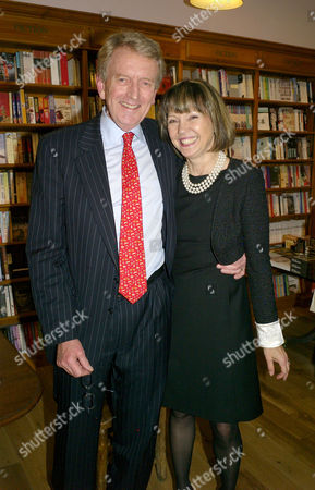 Getting Our Way - an Insider's Account of International Diplomacy -Êbook Launch at Daunt's Books Fulham Broadway London the Books Author Sir Christopher Meyer with His Wife Lady Catherine Meyer
