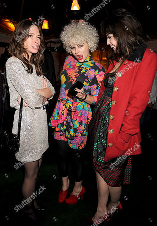 Glamour Women of the Year Awards 2008 Berkeley Square Sarah Lean Lyndell Mansfield and Daisy Lowe