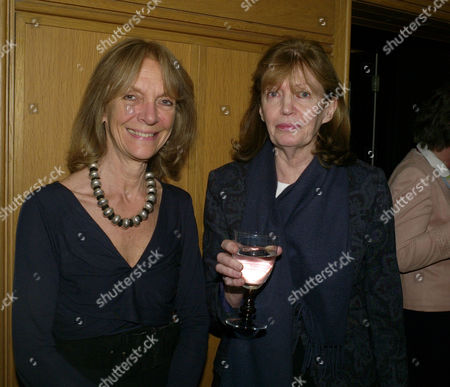Stock Photo of Grandmothers United For Asap (african Solutions to African Problems) Tea Party at Vogue House Hanover Square London Anna Harvey & Countess Lucy Snowdon
