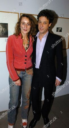 Private View of 'Grievous Angels' an Exhibition of Vintage Photographs at Artandphotraphs Gallery Sw1 Emma Sargent with Her Husband Count Adam Zamoyski