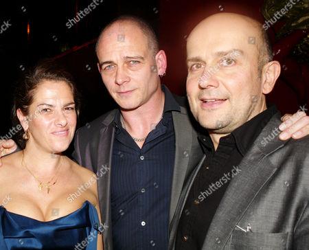 Ica Fund Raising Gala at Koko Camden Tracey Emin Dinos Chapman with Mark Quinn