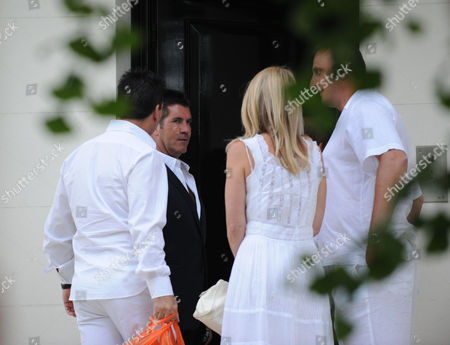 Jackie St Clair and Simon Cowell Joint 50th Birthday Party at Her Home in Holland Park London Simon & Nicholas Cowell