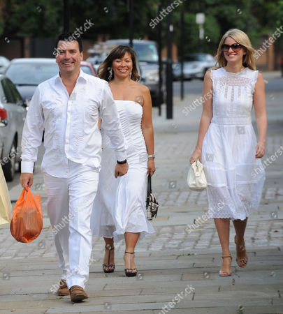 Jackie St Clair and Simon Cowell Joint 50th Birthday Party at Her Home in Holland Park Nicholas Cowell