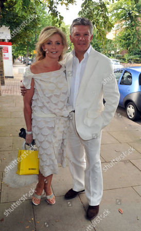 Jackie St Clair and Simon Cowell Joint 50th Birthday Party at Her Home in Holland Park Russ Lindsay and Sally Meen