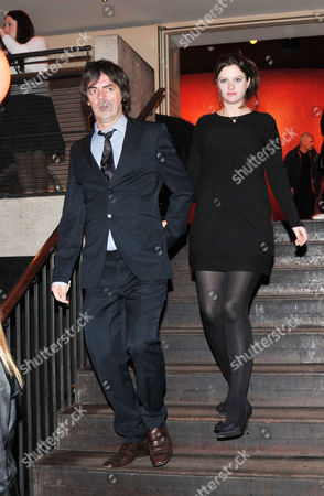 at the Court and Later at the Bar Gala at the Royal Court Theatre Sloane Square Rosie Mortimer with Her Husband George Vjestica