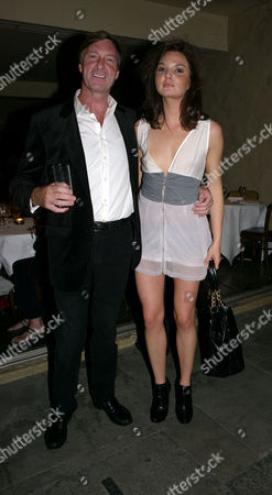 Private View of John Stoddart: Love and Lust at the Coco De Mer Store Draycott Ave Chelsea London Lord Charles Brocket with His Daughter Antalya Nall-cain