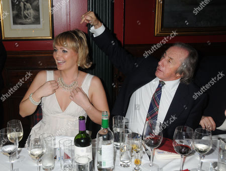 Johnnie Walker Blue Label Great Scot Award 2010 at Boisdale of Belgravia Victoria Isla Traquair and Sir Jackie Stewart