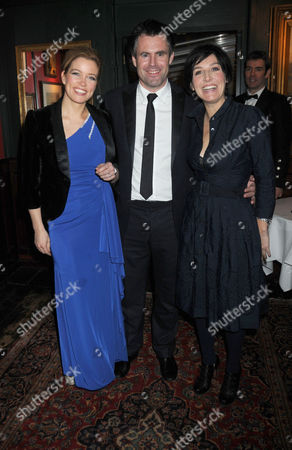 Johnnie Walker Blue Label Great Scot Award 2010 at Boisdale of Belgravia Victoria Amanda Hamilton Kenny Logan and Sharleen Spiteri