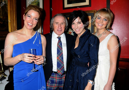 Johnnie Walker Blue Label Great Scot Award 2010 at Boisdale of Belgravia Victoria Amanda Hamilton Sir Jackie Stewart Sharleen Spiteri and Isla Traquair