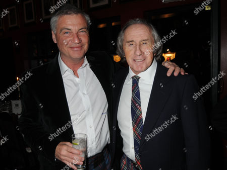 Johnnie Walker Blue Label Great Scot Award 2010 at Boisdale of Belgravia Victoria John Burnside and Sir Jackie Stewart