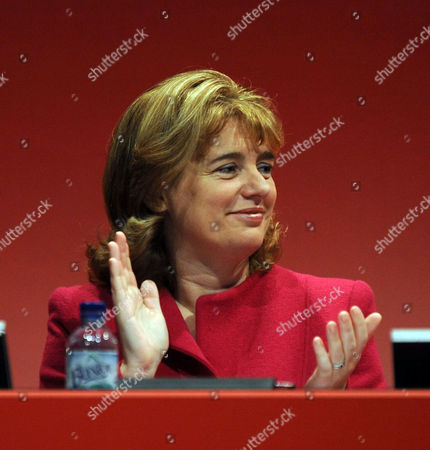 Labour Party Conference at Manchester Central Wednesday Ruth Kelly