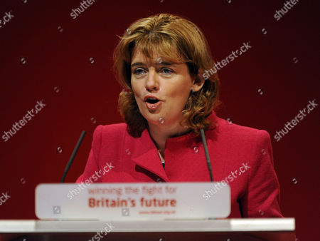 Stock Photo of Labour Party Conference at Manchester Central Wednesday Ruth Kelly