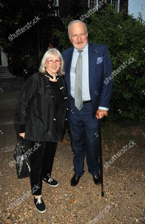 Summer Party Arrivals Richmond Park Tessa Kennedy and Claus Von Bulow