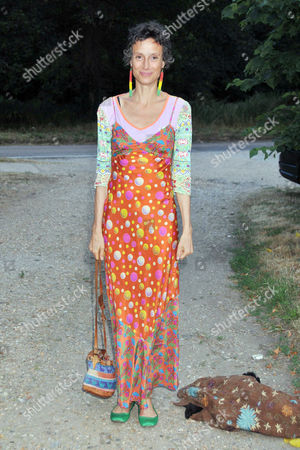 Summer Party Arrivals Richmond Park Tracy Ward Marchioness of Worcester