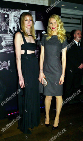 Launch Party For 'Dom Perignon Oenotheque Vintage 1995' at the Langham Hilton Hotel Jade Parfitt and Claudia Schiffer