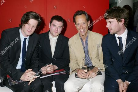 Launch Party For the 'Ballet Ruses Season' Hosted by the English National Ballet at Sadler's Wells Matt Smith Matthew Horne Richard E Grant and Harry Treadaway