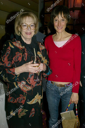 Launch Party For the Book 'Restricted View' at Sketch Conduit Street Lady Antonia Fraser and Tracy Ward Marchioness of Worcester