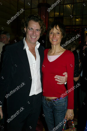 Launch Party For the Book 'Restricted View' at Sketch Conduit Street Tracy Ward Marchioness of Worcester with Richard Hains