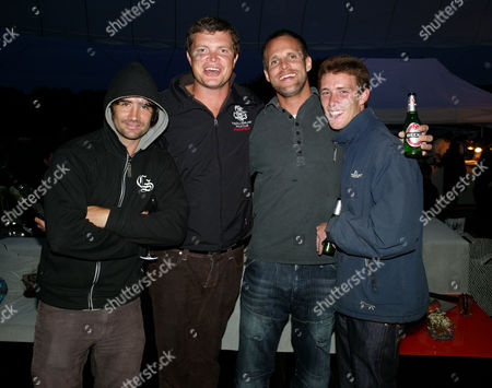 Stock Picture of Launch Party For the New Countryman Mini at Mudchute Farm Isle of Dogs Henry Brett Jack Kidd and Jamie Morrison