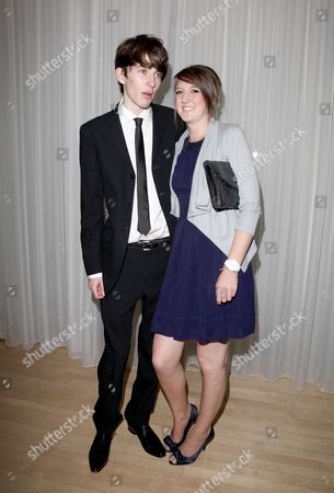 London Film Festival Afterparty For 'An Education' at Suka Sanderson Hotel Matthew Beard with His Girlfriend Laura White