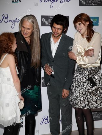 London Film Festival Premiere For 'Bright Star' at the Odeon Leicester Square Edie Martin Jane Campion Ben Whishaw Antonia Campbell-hughes